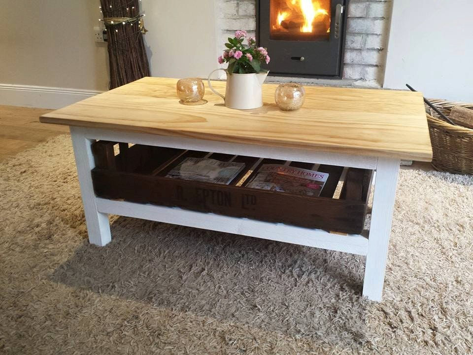 Rustic Coffee Table Coffee Table Shabby Chic Table