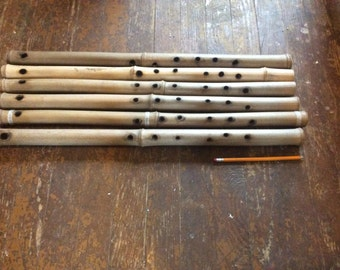 bamboo tenor flute, key of C