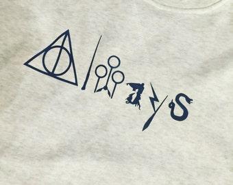 Harry Potter Always sweater