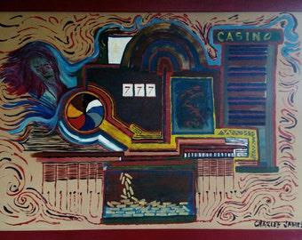 "Painting ""The Casino"""