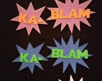 KABLAM! action hair clips