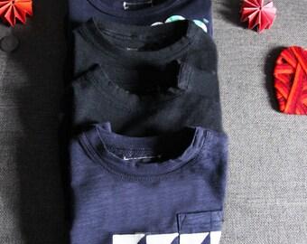 Tee shirt printing triangle-12 months
