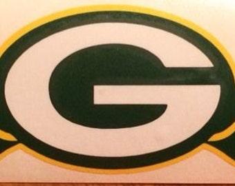 "Green Bay Packers NFL Decal 2.5""x12"" Vinyl Sticker 3"