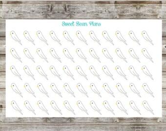 50+ Parakeet Planner Stickers