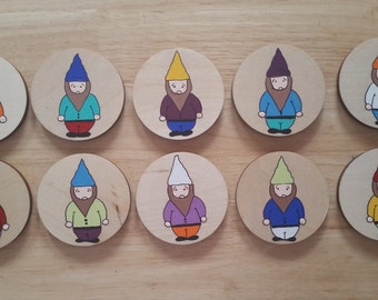 "Memory game ""The Gnomes"""