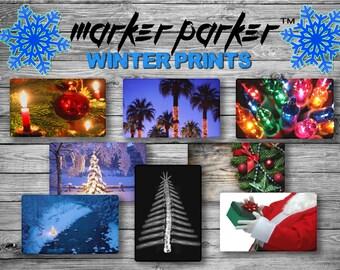 MARKER PARKER WINTER print