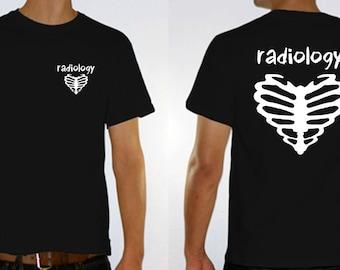 Heart Bone radiology shirt