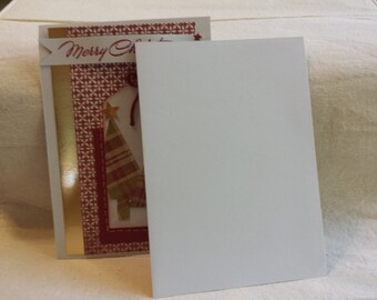 Merry Christmas Tree Card- Set of Two