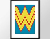 Wonder Woman Logo - Class...