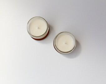 Vanilla Mason Jar Soy Candle