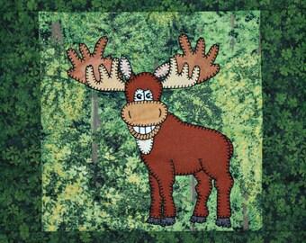 Moose quilt pattern | Etsy : moose quilt pattern - Adamdwight.com
