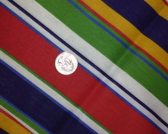 """BOLD STRIPES FABRIC,1yd x 45"""",Vintage fabric"""