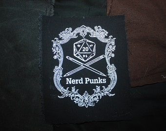 "Nerd Punks 6"" Patch"