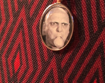 Uncle Fester Addams Family Pendant Necklace Horror