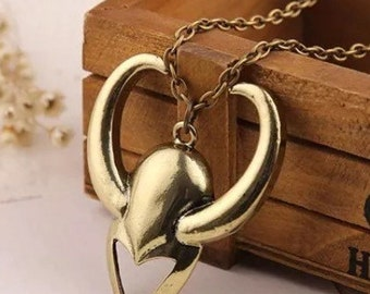 Loki pendant necklace