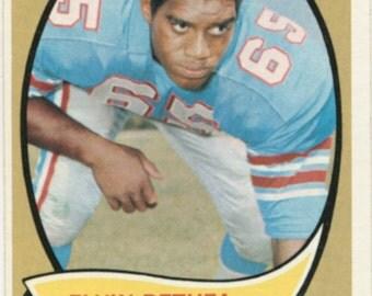 Elvin Bethea 1970 Topps #43 Oilers Football Rookie Card