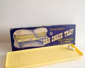 Vintage car snack tray