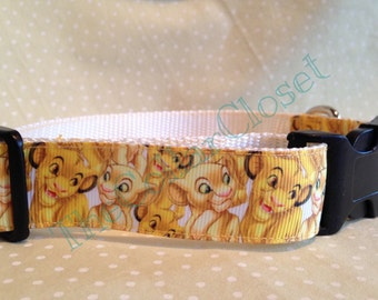 Lion King Style Unofficial Dog Collar