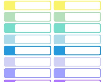 Pastel Appointment Labels (planner stickers)