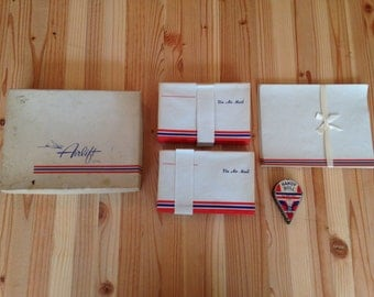 Vintage Air Mail Stationary