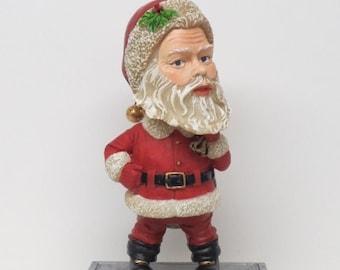 Santa Christmas Trophy Prize Bobble Head Ugly Sweater Award ** Free Engraving