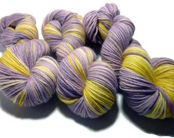 Pastel Pansy - 100gm, 192m, Single Ply, DK Yarn, 75 Merino/25 Silk - Ready to Ship