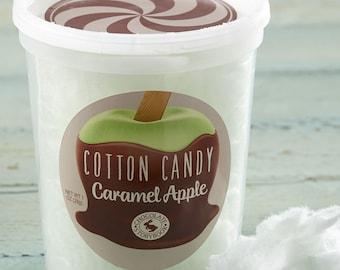 Caramel Apple Cotton Candy