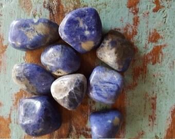 Sodalite Large Tumbled Stones
