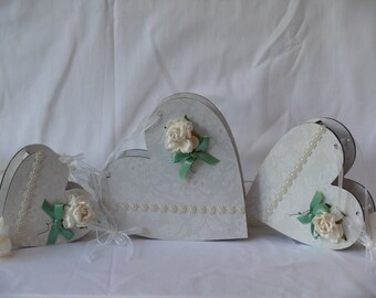 MDF Heart boxes
