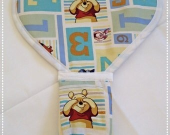 Disney's Winnie the Pooh Block Binky Blanket! Soft and Cuddly!