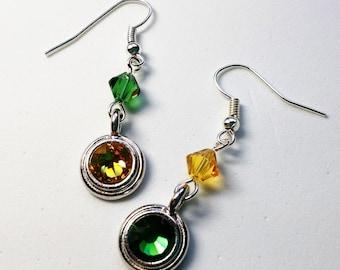 Green Bay Packers Sparkle Earrings