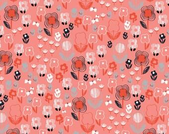 Mori Girls - Red Floral by Jillian Phillips