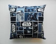 Star Wars Throw Pillow, Star Wars Pillow, 12x12 Pillow