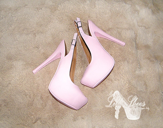Pink High Heels For Wedding: Shoes Pink High Heels Wedding Sweet 16 Prom Bridesmaid