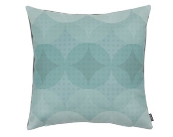 Cushion Graphi Circles green 45x45 cm