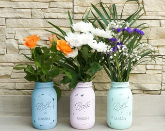 Kit DIY - Mason Jar vintage