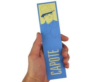 Truman Capote Bookmark! Breakfast at Tiffany's, in cold blood, harper lee, books