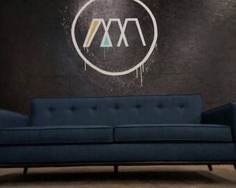 Mid Century Sofa, Custom style Danish Modern Sofa