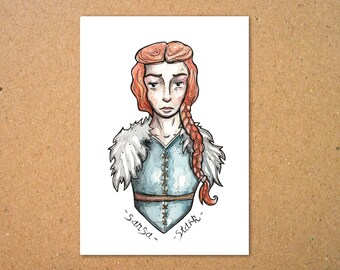 Original Sansa Stark Illustration