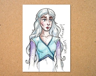 Original Daenerys Targaryen Illustration