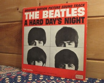 The Beatles A Hard Day's Night - Original Motion Picture Soundtrack - 33 1/3 Vinyl Record