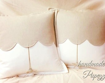 natural colors for pure cotton pillow with extra swag