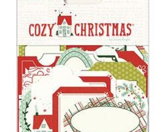 My Mind's Eye Cozy Christmas Gift Tags, 26 Gift Tags