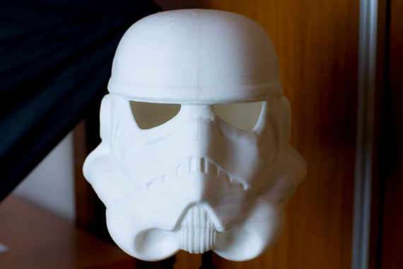 Stormtrooper helmet unpainted diy kit 3d printed star wars like this item solutioingenieria Gallery