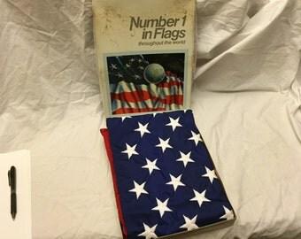 Valley forge perma nylon 50 star 3x5' american flag NEW