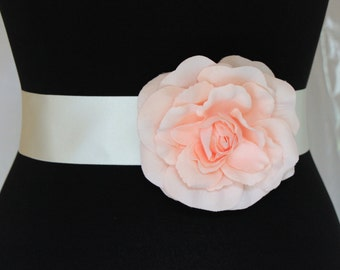 Blush Pink flower belt
