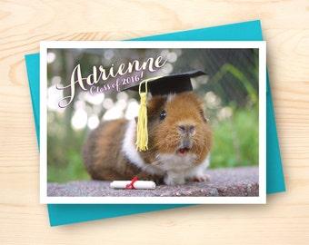 Personalized Graduation Card
