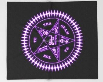 Black Butler Sebastian Michaelis Contract Sigil Throw Blanket