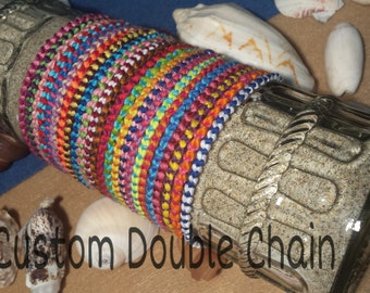 2 Custom Double Knot Frienship Bracelets