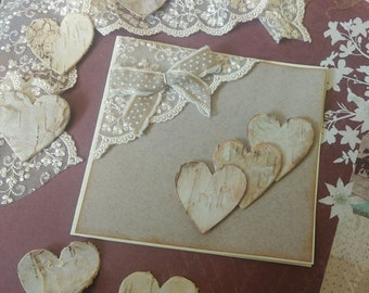 "10 Participation marriage ""hearts and lace"""
